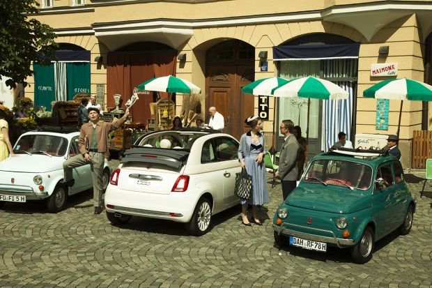 Fiat 500 Forever Young Experience